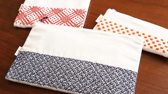 使い道 刺し子 ふきん さらしの布巾の作り方